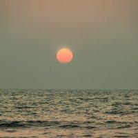 Индийский океан на закате :: Виктор Куприянов