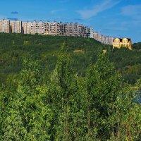 Мурманск. Вид со стороны озера «Большое». :: kolin marsh