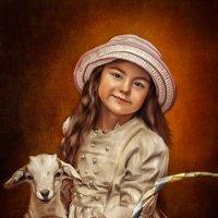 Портрет девочки с козленком :: Лариса Соколова