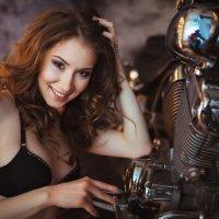 Девушка и мото 2 :: Денис Буров