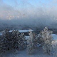 Морозно,даже очень,на малой родине моей... :: Александр Попов