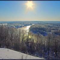 Зимнее Солнце :: Дубовцев Евгений
