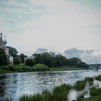 Река Вологда. :: Татьяна Бронзова