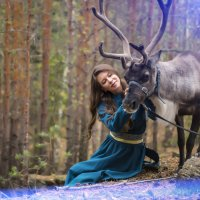 В лесу как в сказке :: Нина Шмакова