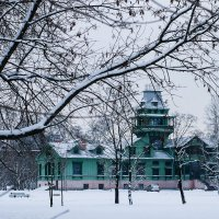 Дача Бенуа - зима :: Александра К