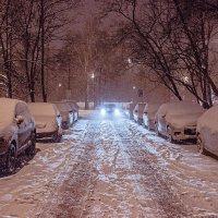 одинокое такси :: Анна -