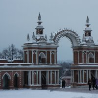 Галерея-ограда с воротами :: Елена Павлова (Смолова)