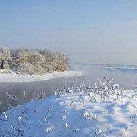 Зимняя Москва-река :: Андрей Попов