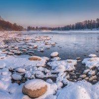 Вечером на реке :: Sergey Oslopov