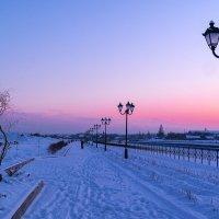 морозный вечер :: Сергей