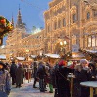 Москва новогодняя :: Алексей Окунеев