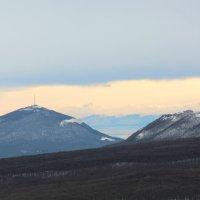 Гора Машук и склон горы Бештау :: Светлана Попова