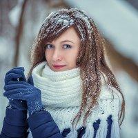 фотосессия в зимнем лесу :: Юлия Рожкова