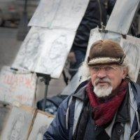 уличный художник :: ник. петрович земцов