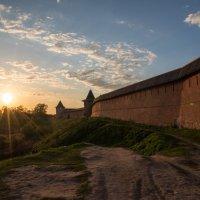 Закат у стен Суздальского мужского монастыря :: Анна Салтыкова