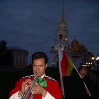 Бабье лето в Горячих ключах фестиваль 2008  Трубач :: Олег Романенко