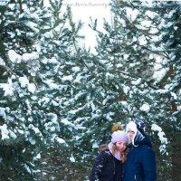 Зимнее LoveStory :: Мария Назаретян