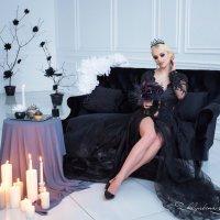 Магия черного :: Екатерина Желябина
