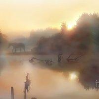 Утро туманное :: лада шлёнова
