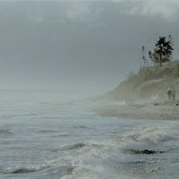 Ветрено,брызги, немного штормит... :: Эви и Владимир [][]][]]]]]