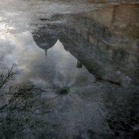 Отражение на льду. :: Эдвард Фогель