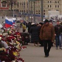 место смерти Немцова :: Александра Полякова-Костова