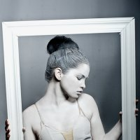 балерина и рамка :: Владимир Юминов