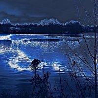 Зимнее озеро :: Nina Yudicheva