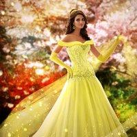 образ диснеевской принцессы (Бэлла) :: Veronika G
