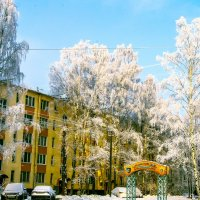 Зима во дворе :: Валерий Смирнов