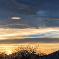 Небо в январе. :: Олег Стасенко