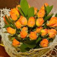 нежные розы для учителя... :: Алёна Алексаткина