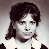 Юность. Год за годом... Выпускница. 1966 :: Нина Корешкова
