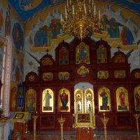 Иконостас в храме Петра и Павла. :: Антонина Гугаева