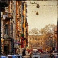 My magic Petersburg_01765  Виленский переулок :: Станислав Лебединский