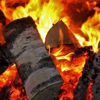 Кормление огня :: Сергей Чиняев