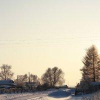 Морозы крещенские сибирские :: Екатерина