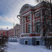 Зима в Кусково :: Надежда Лаптева