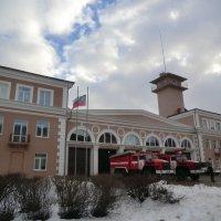 Великие Луки, Здание пожарной части... :: Владимир Павлов