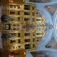 Иконостас в Храме Преображения господня в селе Радонеж :: Vitalet