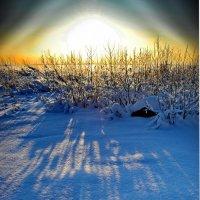 Посадка НЛО над Финским Заливом :: Андрей Зайцев