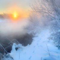 Просто морозный рассвет.... :: Андрей Войцехов