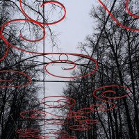 The Alley of Winter Love :: Длинный Кот