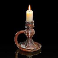 Свеча горела на столе... :: Николай Кандауров