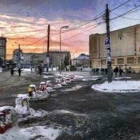 Не  дождавшись трамвая  и  полутёмной  газели... :: Ирина Данилова