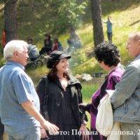 Российская актриса театра и кино Инга Оболдина с родителями и другими :: Полина Потапова