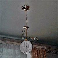 Светильник на кухне :: Нина Корешкова