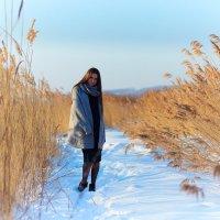 Девушка зима :: Сергей