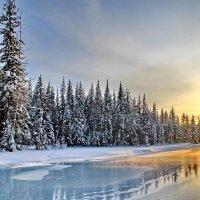 зимняя река :: Александр