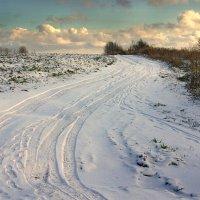 Снежная дорожка :: Валерий Талашов